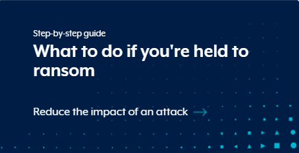 What do do if you fall victim to a ransomware attack